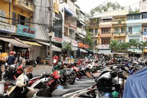道路の3分の1はバイク